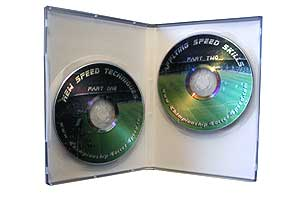 Click here to order this speed training video two DVD set approx 40 minutes each. Perfect for Soccer Clubs